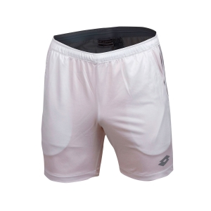 Tennis Shorts and Pants for Boys Lotto Boy Teams 5.5in Shorts  White 21038207R