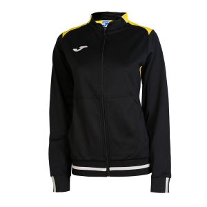Tennis Women's Jackets Joma Campus II Jacket  Black/Yellow 900243.109