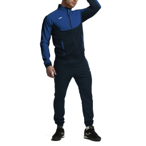 Men's Tennis Suit Joma Essential Micro Tracksuit  Royal/Navy 101021.307
