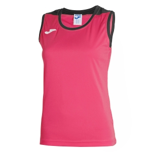 Top y Polos Niña Joma Girl Spike Tank  Pink/Grey 900239.510
