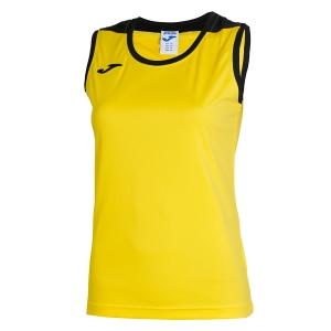 Top and Shirts Girl Joma Girl Spike Tank  Yellow/Black 900239.901