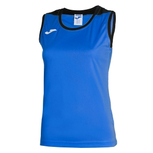 Top and Shirts Girl Joma Girl Spike Tank  Blue/Navy 900239.703