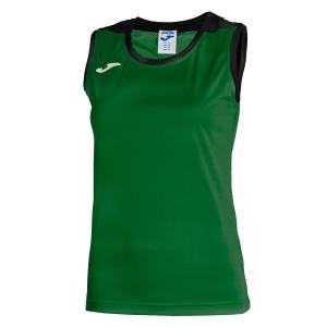Top y Polos Niña Joma Girl Spike Tank  Green/Black 900239.451