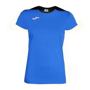 Top and Shirts Girl Joma Girl Spike TShirt  Blue/Navy 900240.703