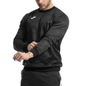 Men's Tennis Shirts and Hoodies Joma Grafity Hoodie  Dark Grey/White 101329.151