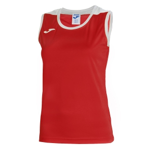 Women`s Tennis Tanks Joma Spike Tank  Red/White 900239.602