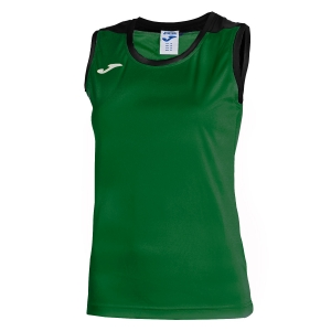 Women`s Tennis Tanks Joma Spike Tank  Green/Black 900239.451