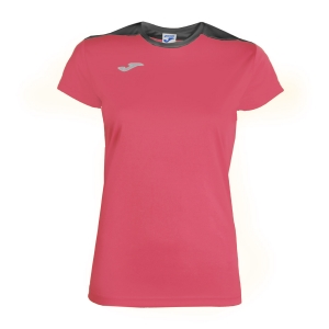 Women`s Tennis T-Shirts and Polos Joma Spike TShirt  Pink/Grey 900240.510