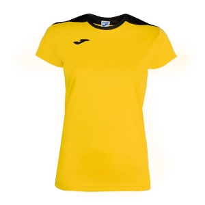 Women`s Tennis Tanks Joma Spike TShirt  Yellow/Black 900240.901