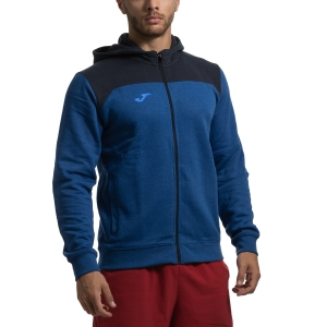 Men's Tennis Jackets Joma Winner II Hoodie  Blue/Navy 101283.700