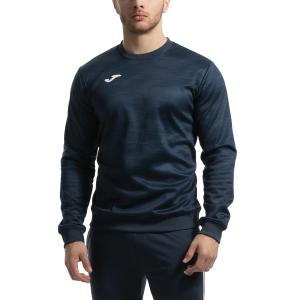 Men's Tennis Shirts and Hoodies Joma Grafity Hoodie  Navy/White 101329.331