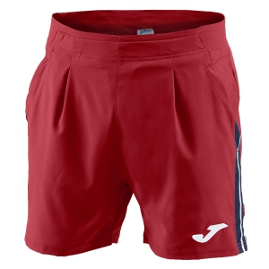 Tennis Shorts and Pants for Boys Joma Boy Granada 4in Shorts  Red/Navy/White 100568.600