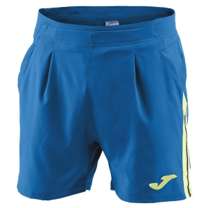 Tennis Shorts and Pants for Boys Joma Boy Granada 4in Shorts  Petrol/Light Yellow 100568.709