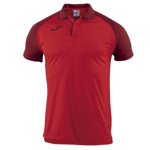 Tennis Polo and Shirts Joma Boy Torneo II Polo  Red 100639.600