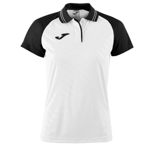 Top and Shirts Girl Joma Girl Torneo II Polo  White/Black 900454.201