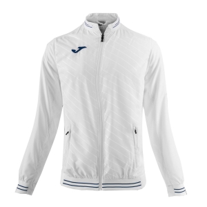 Tennis Jackets Girls Joma Girl Torneo II Jacket  White/Navy 900487.200
