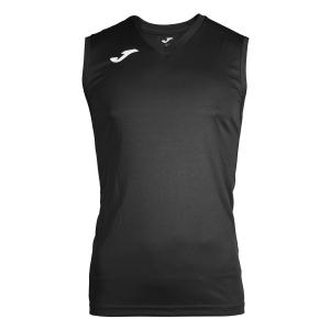 Maglietta Tennis Uomo Joma Combi Singlet  Black/White 100436.100