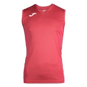 Maglietta Tennis Uomo Joma Combi Singlet  Red/White 100436.600