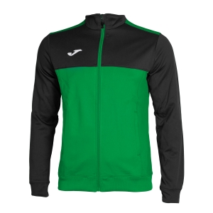 Chaquetas Boy Joma Boy Winner Jacket  Green/Black 101008.401