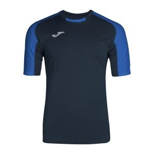 Tennis Polo and Shirts Joma Boy Essential TShirt  Navy/Blue 101105.307