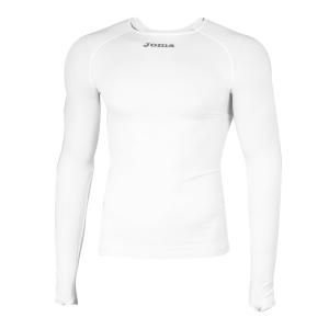 Tennis Polo and Shirts Joma Boy Brama Classic Shirt  White 3480.55.100
