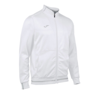 Giacche Tennis Boy Joma Boy Campus II Jacket  White 100420.200