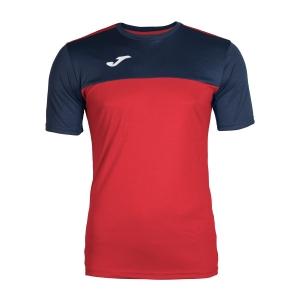 Tennis Polo and Shirts Joma Boy Winner TShirt  Red/Navy 100946.603