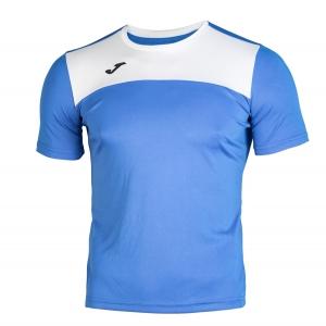 Tennis Polo and Shirts Joma Boy Winner TShirt  Blue/White 100946.702