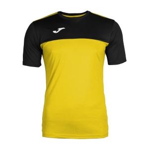 Tennis Polo and Shirts Joma Boy Winner TShirt  Yellow/Black 100946.901