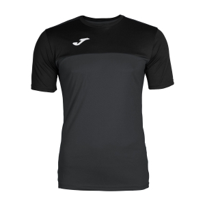 Maglietta Tennis Uomo Joma Winner TShirt  Dark Grey/Black 100946.151