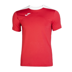Men's Tennis Shirts Joma Spike TShirt  Red/White 100474.602
