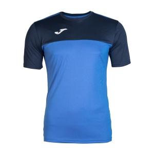 Maglietta Tennis Uomo Joma Winner TShirt  Blue/Navy 100946.703
