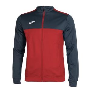 Men's Tennis Jackets Joma Winner Jacket  Red/Navy 101008.603