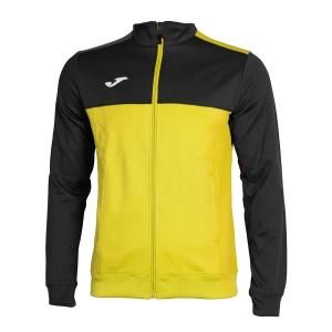 Men's Tennis Jackets Joma Winner Jacket  Yellow/Black 101008.901