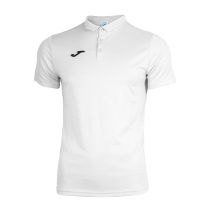 Women`s Tennis T-Shirts and Polos Joma Hobby Polo  White 100437.200