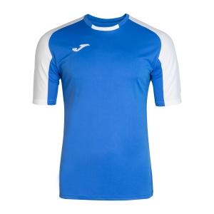 Men's Tennis Shirts Joma Essential TShirt  Blue/White 101105.702