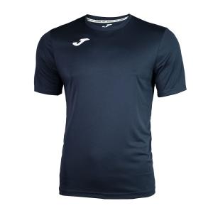 Maglietta Tennis Uomo Joma Combi TShirt  Dark Navy/White 100052.331