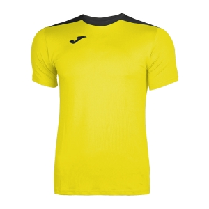 Tennis Polo and Shirts Joma Boy Spike TShirt  Yellow/Black 100474.901