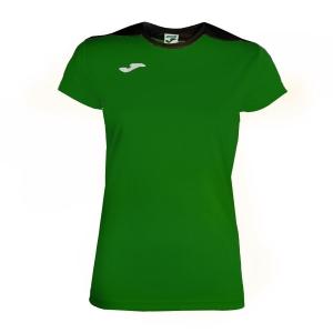 Top and Shirts Girl Joma Girl Spike TShirt  Green/Black 900240.451