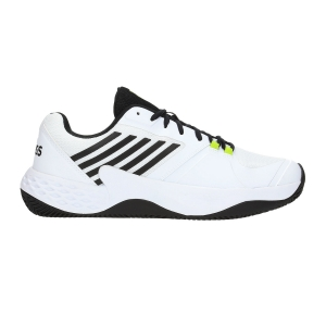 Men`s Tennis Shoes KSwiss Aero Court Clay  White/Black 06135124M