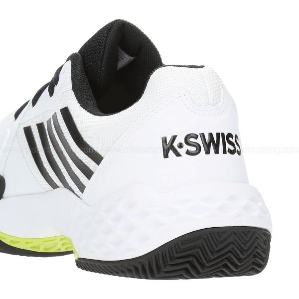K-Swiss Aero Court Clay - White/Black
