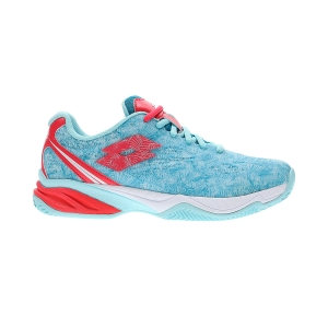 Padel Shoes Lotto Superrapida 200  Clearwater/Calypso Pink/Mosaic Blue 211614597