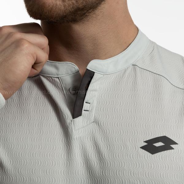 Lotto Tennis Tech Polo - Glacier Gray