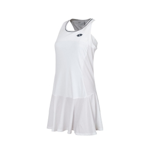 Tennis Dress Girl Lotto Girl Teams Dress  White/Navy 21040107R