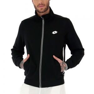 Chaquetas Tenis Hombre Lotto Teams Full Zip Jacket  Black 2103791CL