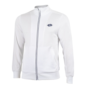 Chaquetas Tenis Hombre Lotto Teams Full Zip Jacket  White/Navy 21037907R