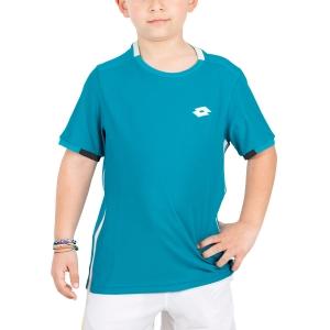 Polo y Camisetas de Tenis Lotto Tennis Teams Camiseta Nino  Mosaic Blue 21038126P
