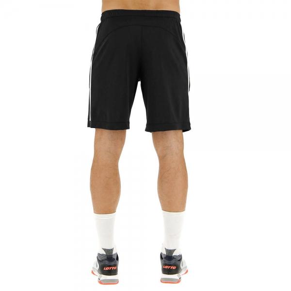 Lotto Tennis Teams 9in Shorts - Black/White