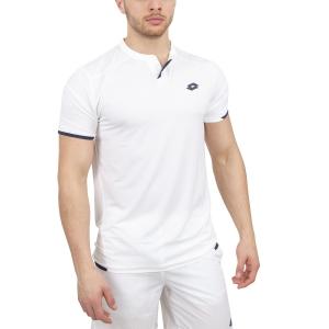 Polo Tenis Hombre Lotto Tennis Tech Polo  White/Navy 21036907R
