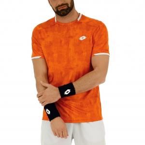 Men's Tennis Shirts Lotto Top TShirt  Red Orange 211248513